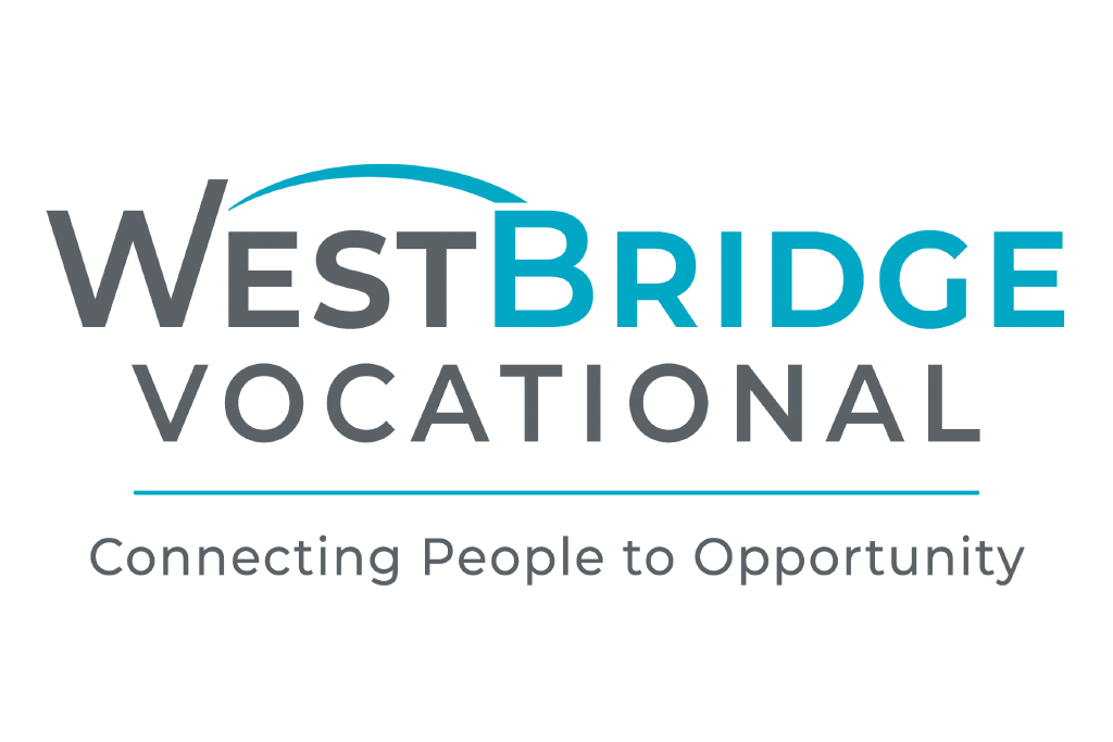 Westbridge Vocational: connecting people to opportunity logo